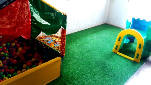 Piscina de bolinhas para crianças até 3 anos