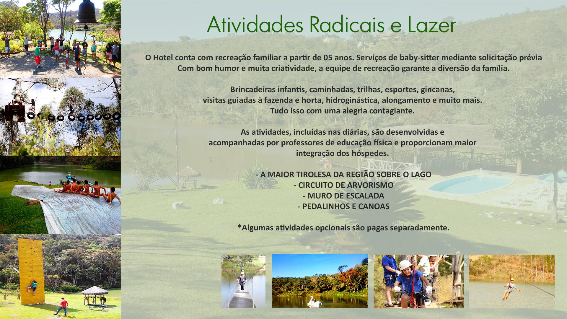Radicais e Lazer